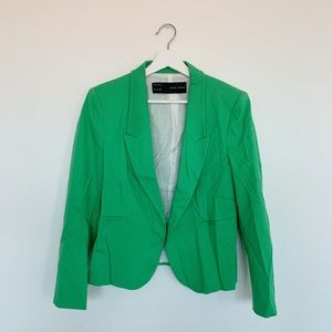 Zara Blazer in Green